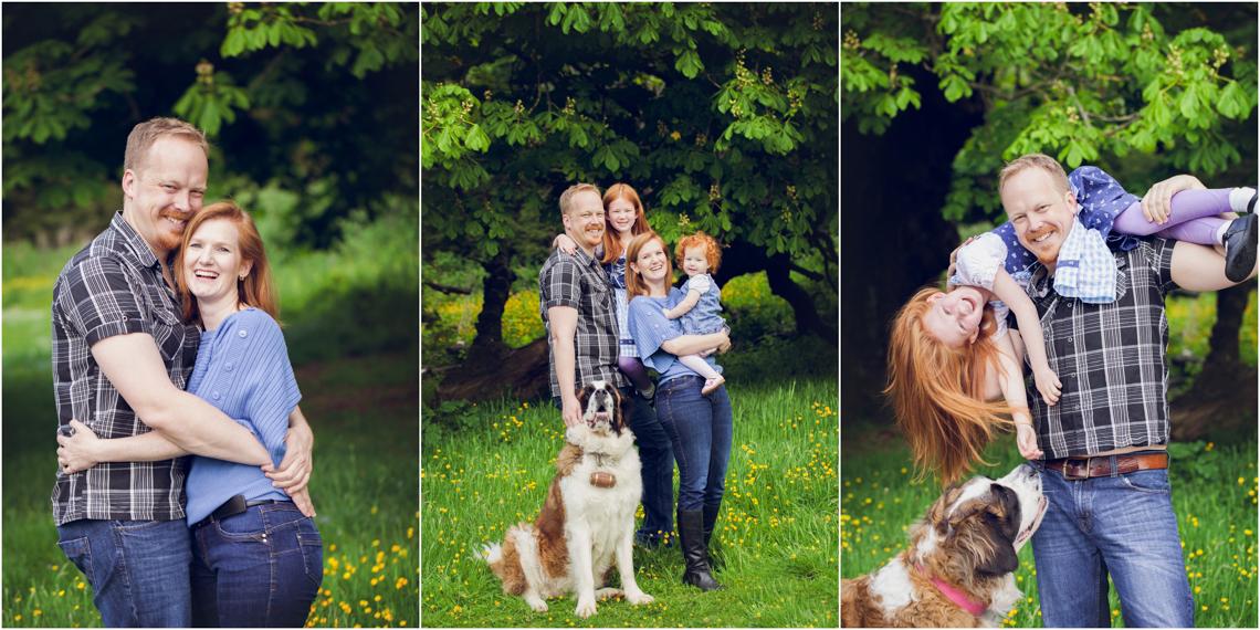 Family Location Photography Studio Life of Edinburgh