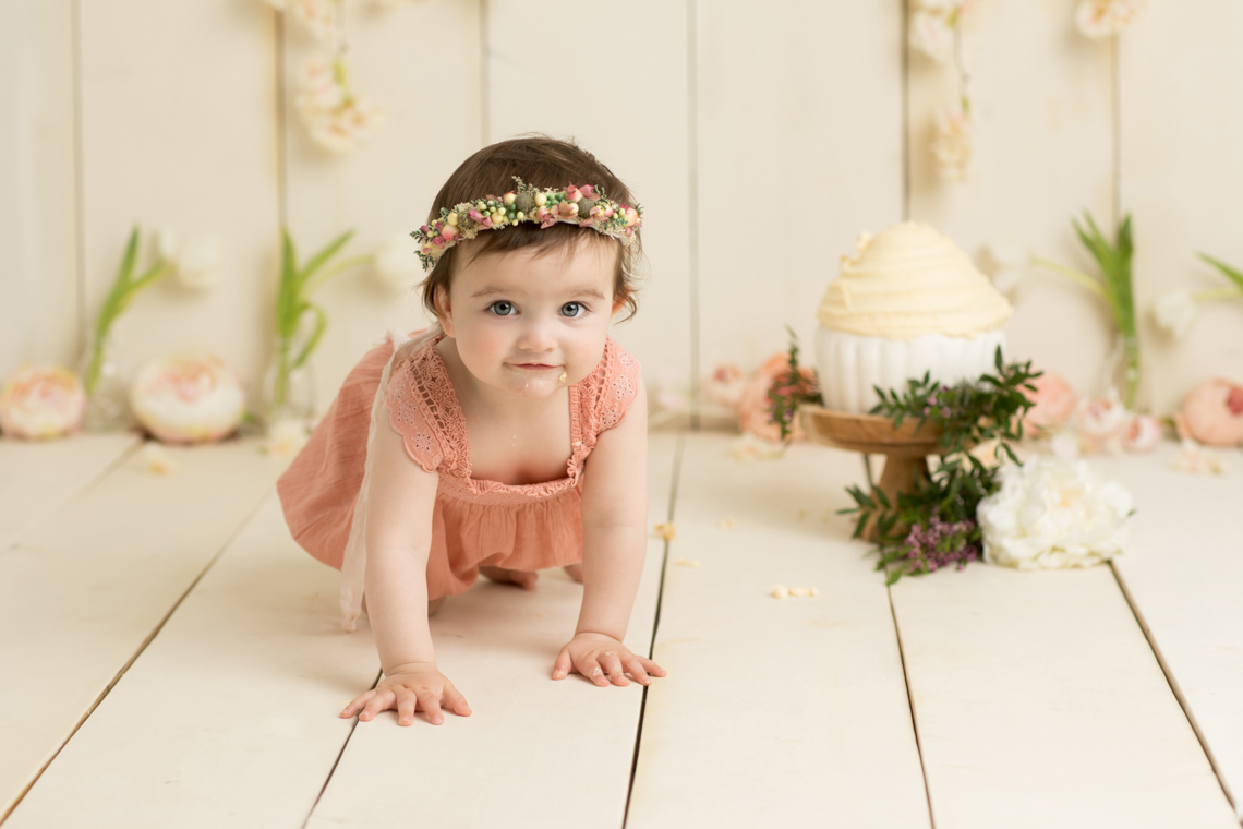 Cake Smash Baby Photography by Studio Life of Edinburgh