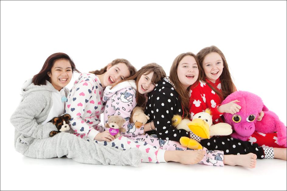 girls photoshoot birthday party