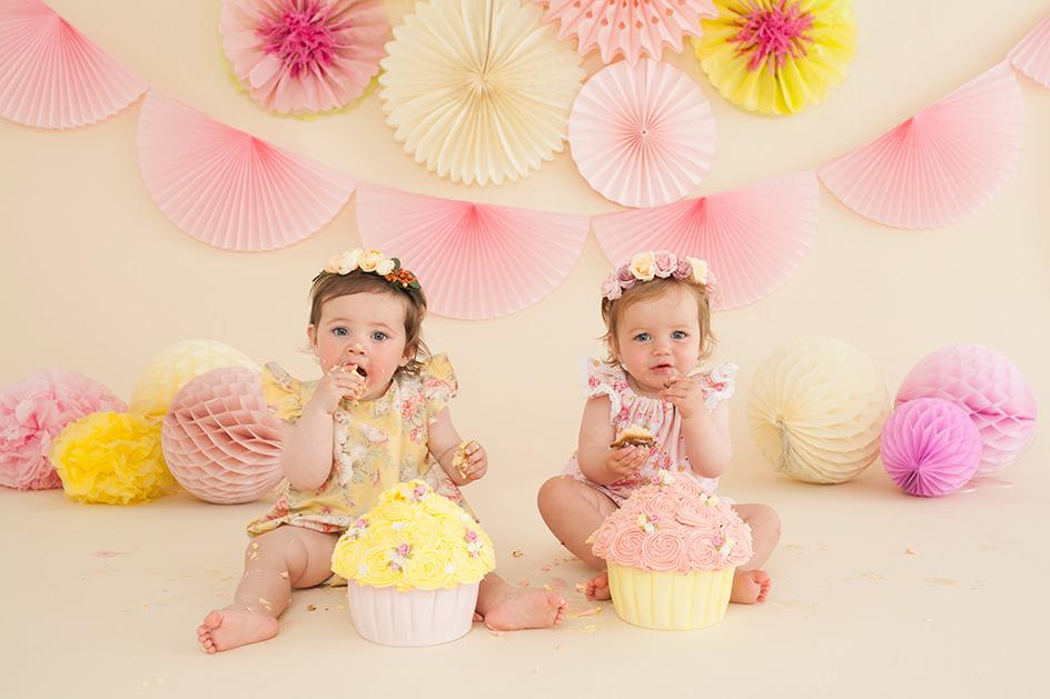 cake smash first birthday photography